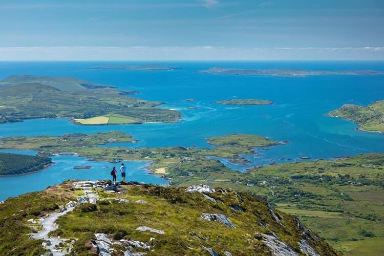The view from Diamond Hill Connemara