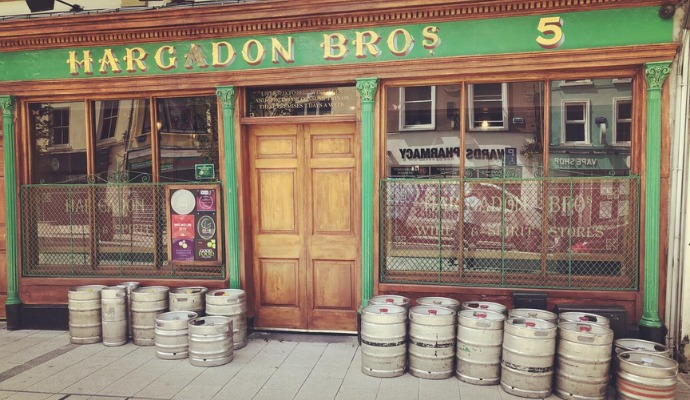 photo of Hardagon's pub in sligo