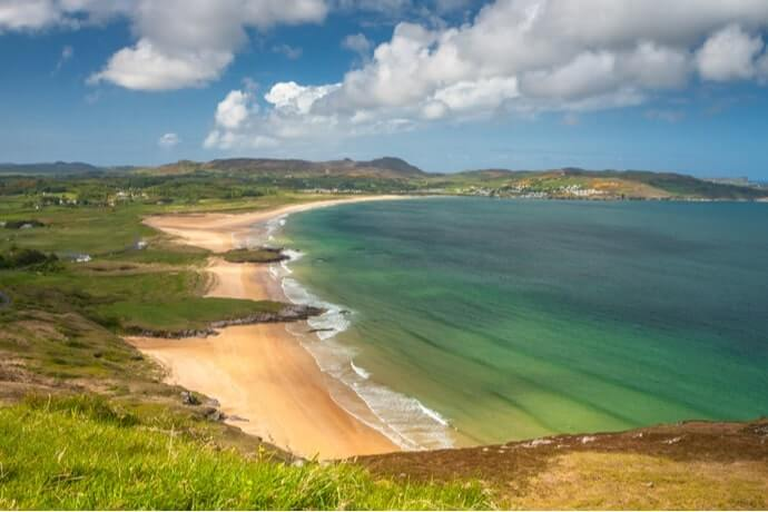 Portsalon beach donegal