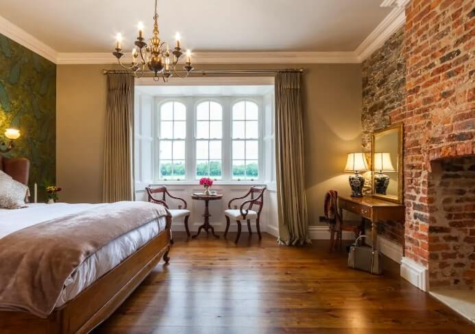 another of the bedrooms at wilton castle