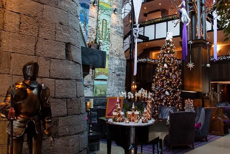 Christmas market clontarf castle