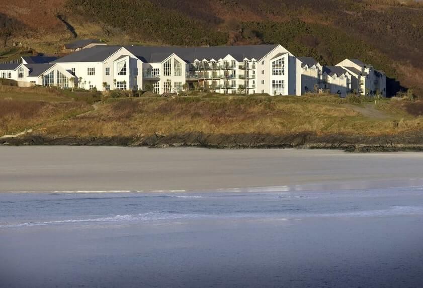 Inchydoney Island hotel by the sea Ireland