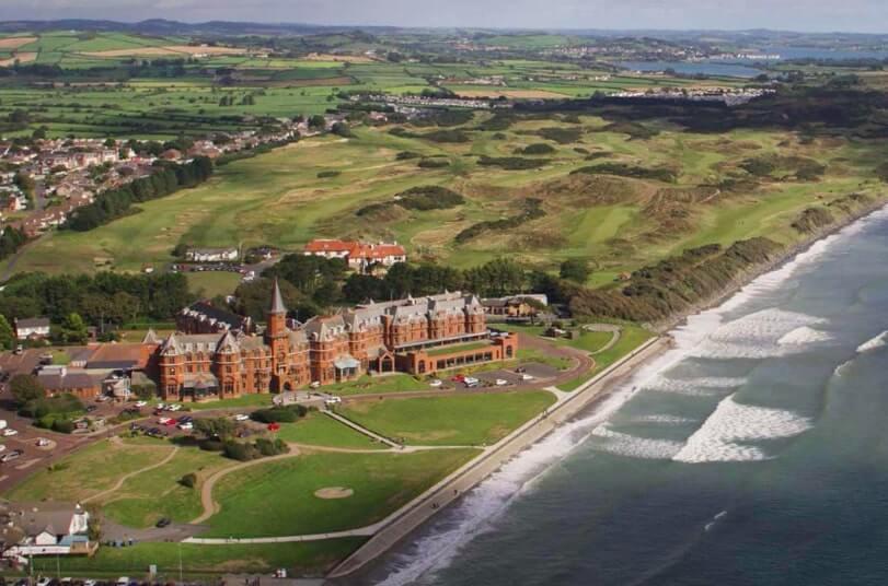 Coastal hotel Ireland - Slieve donard resort