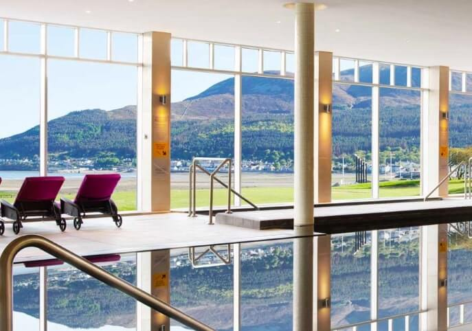 one of the best spa hotels in Ireland by the sea