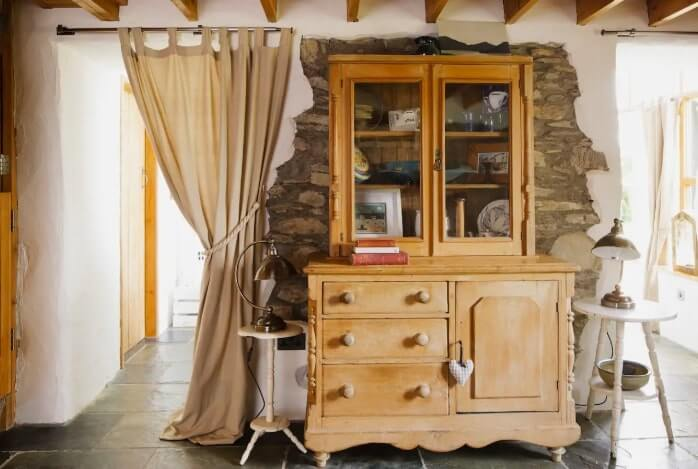 artists cottage interior