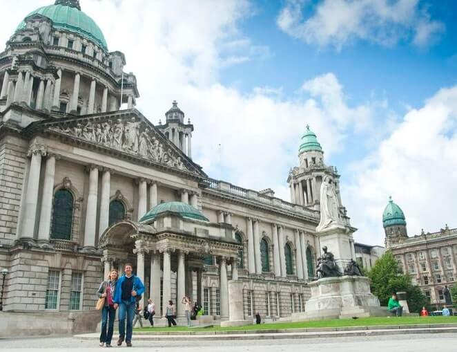 belfast city hall exterior