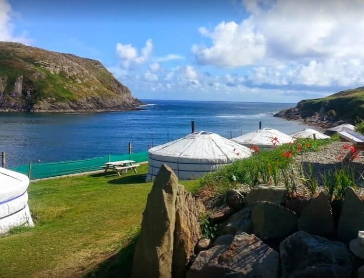 chlere haven glamping Ireland