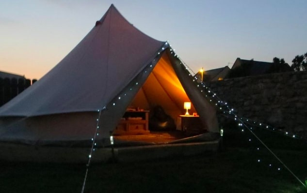 glamping in doolin