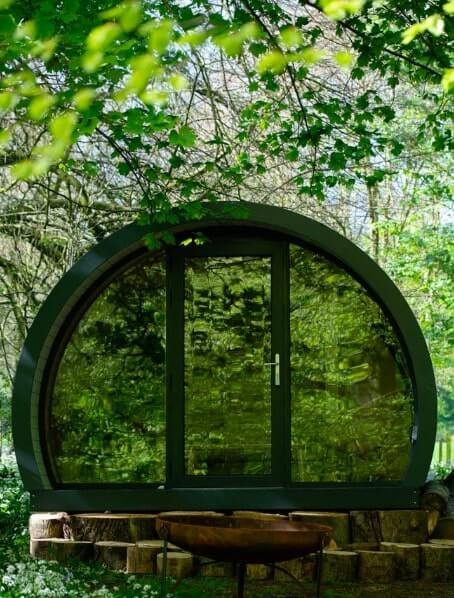 glamping at glenarm castle
