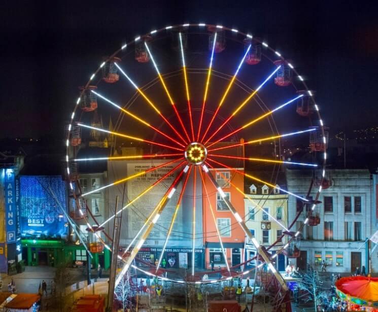 Ferris wheel grand parade