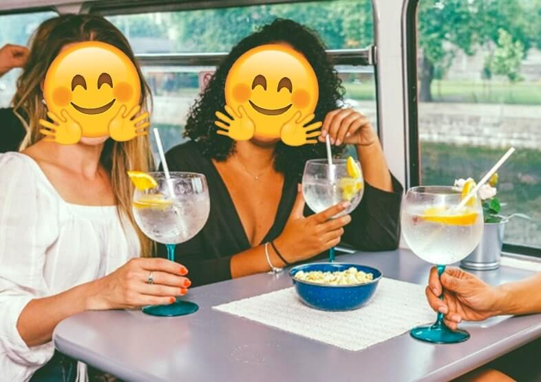 bus tour with gin dublin