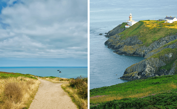 howth cliff walk guide