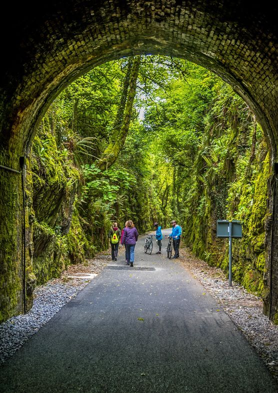walking the Waterford Greenway