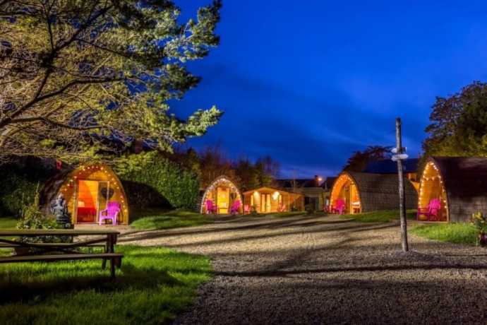 Podumna glamping in galway