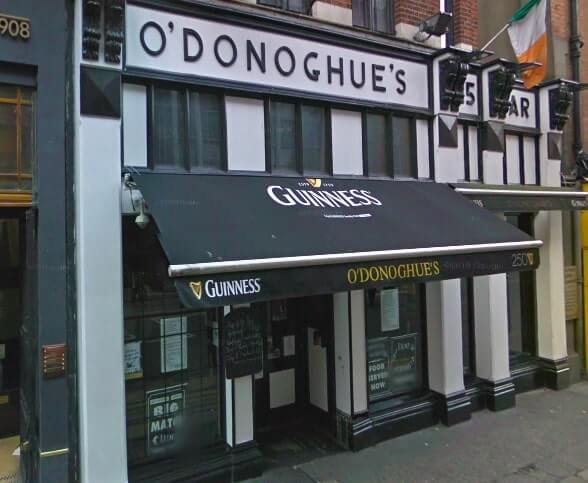 O' Donoghues bar