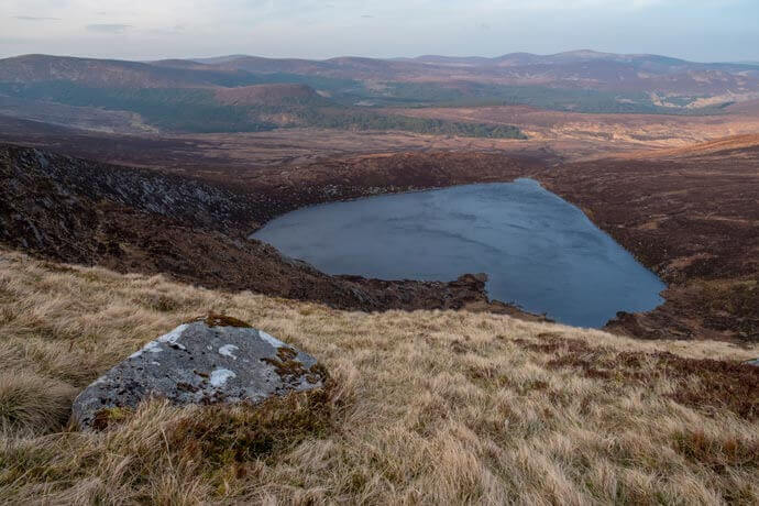 lough ouler hike wicklow