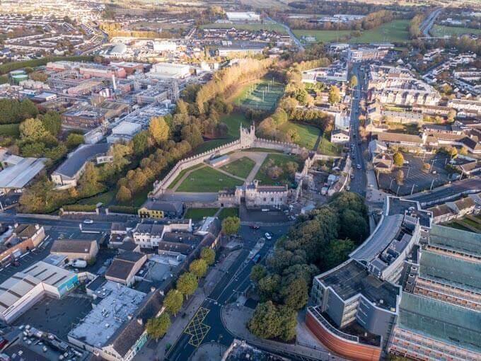 Swords Castle in Dublin