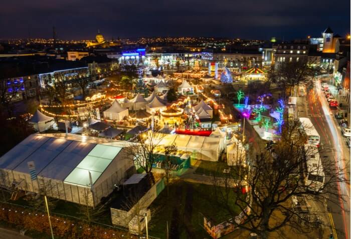 Galway Christmas market 2020