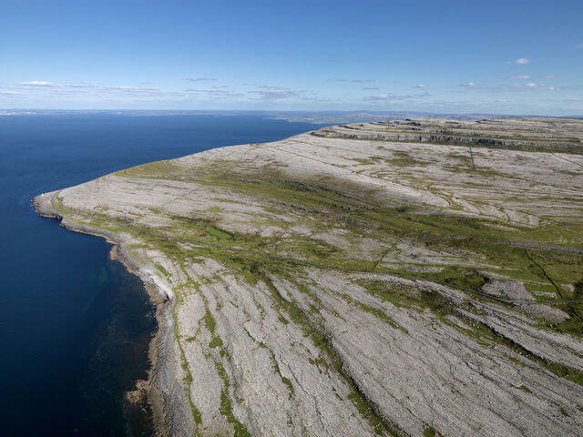 The Burren from above