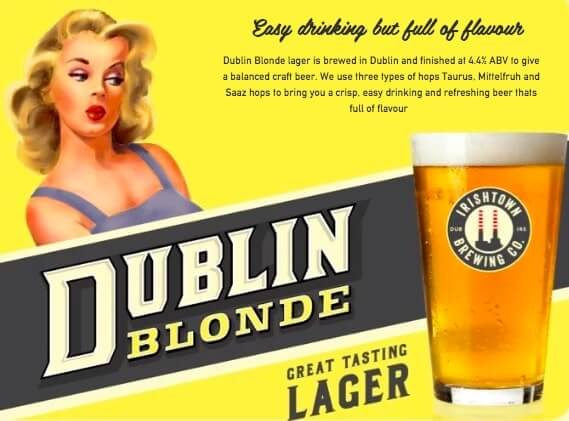 dublin blonde beer