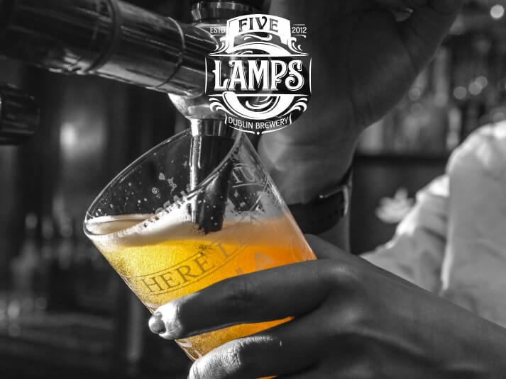 five lamps beer