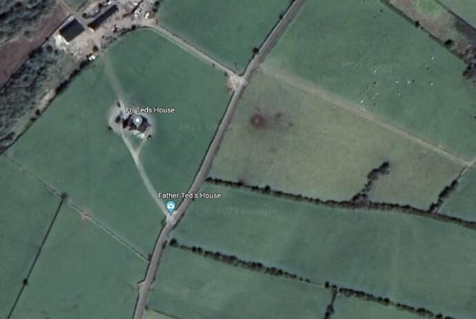 father ted house location