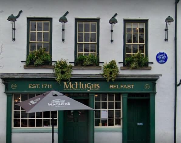 mchughs bar belfast