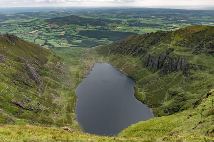 Coumshingaun Lake loop walk