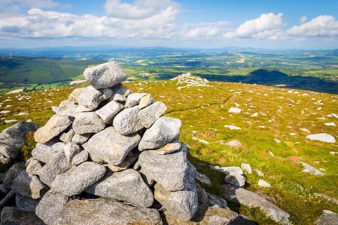 blackstairs mountain summit
