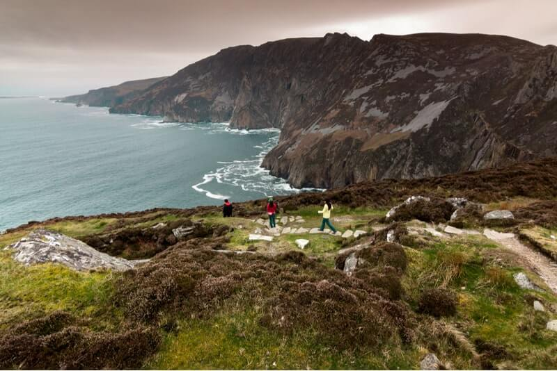 Slieve league views