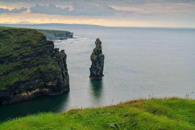 Bromore Cliffs in Ballybunion