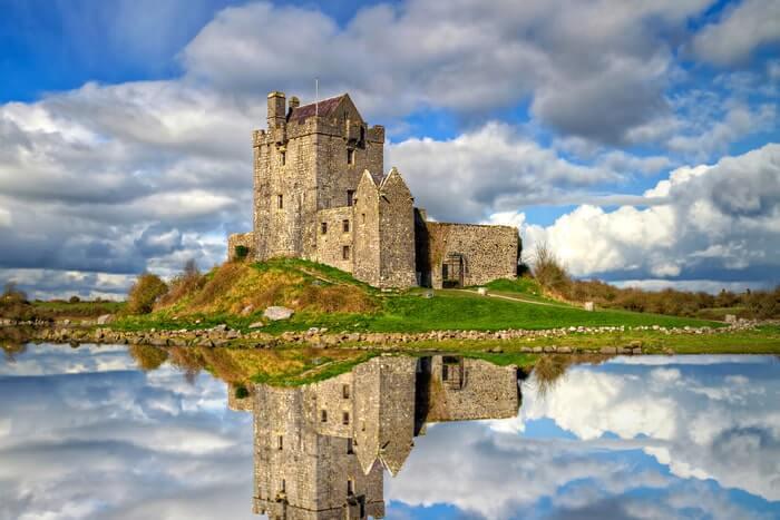 Dunguaire castle near oranmore