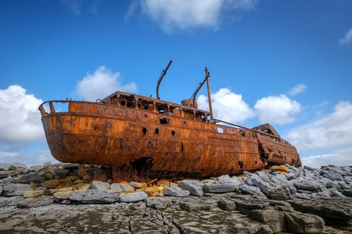 Plassy Shipwreck