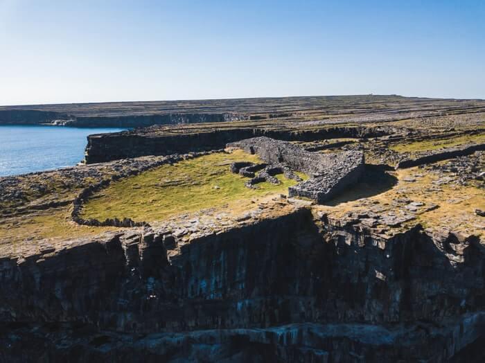 black fort aran islands