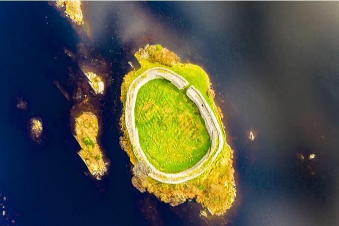 Doon fort aerial