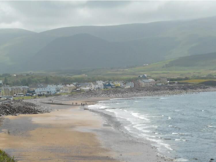 Waterville village and beach