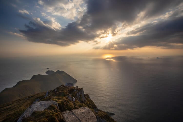 Croaghaun cliffs