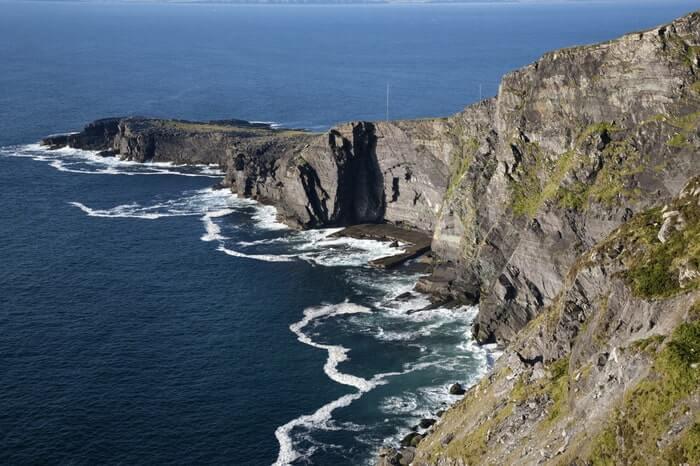 The fogher cliffs
