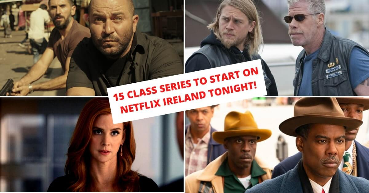 best shows on netflix Ireland