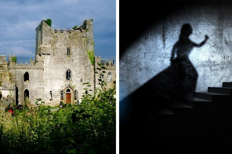 most haunted castle in ireland