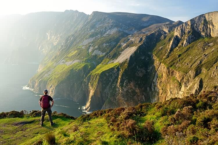 Slieve league hike