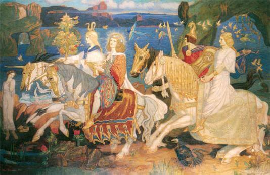 Tuatha dé Danann members