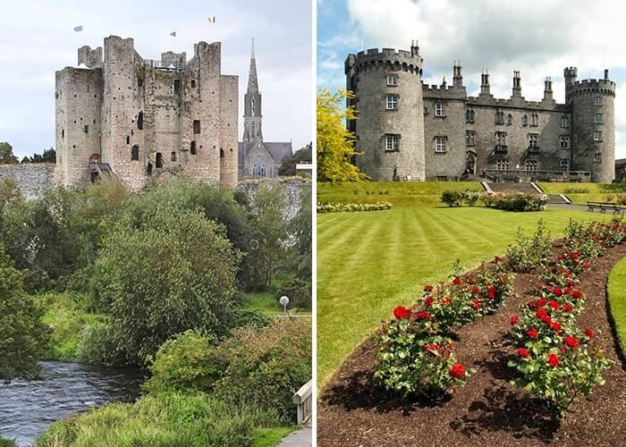 castles near dublin ireland