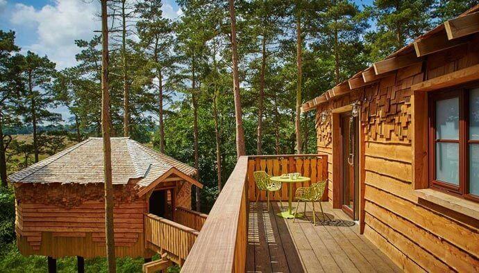 Centre Parcs treehouse