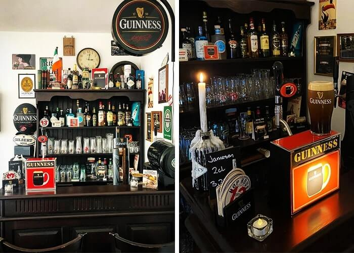 guinness kegerator at home