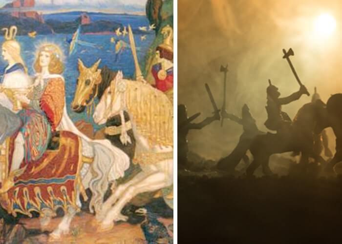 Tuatha Dé Danann the fiercest tribe in Irish mythology