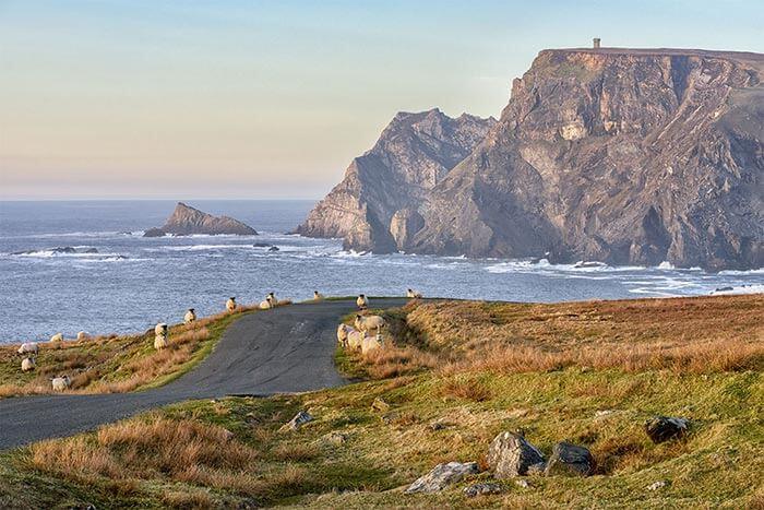 Glencolmbcille cliffs