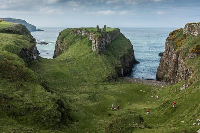 Dunseverick Castle antrim