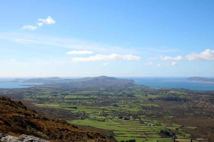 view from mount gabriel