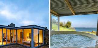 airbnbs with hot tubs in ireland